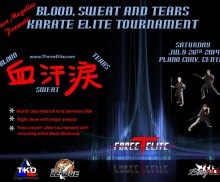 "TForceElite 1st annual Tournament ""Blood, Sweat and Tears"" Sanctioned by TKO and The League"