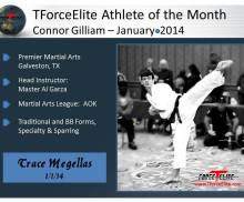 {{TForceElite Athlete of the Month – January/2014}}